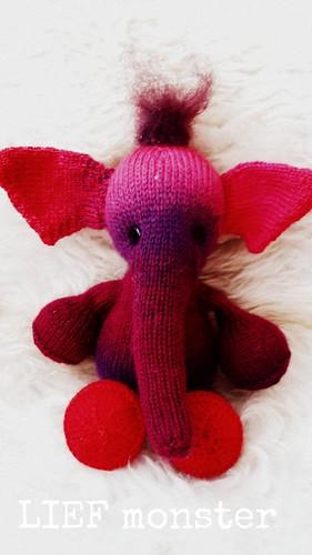 Toetie the Circus Elephant