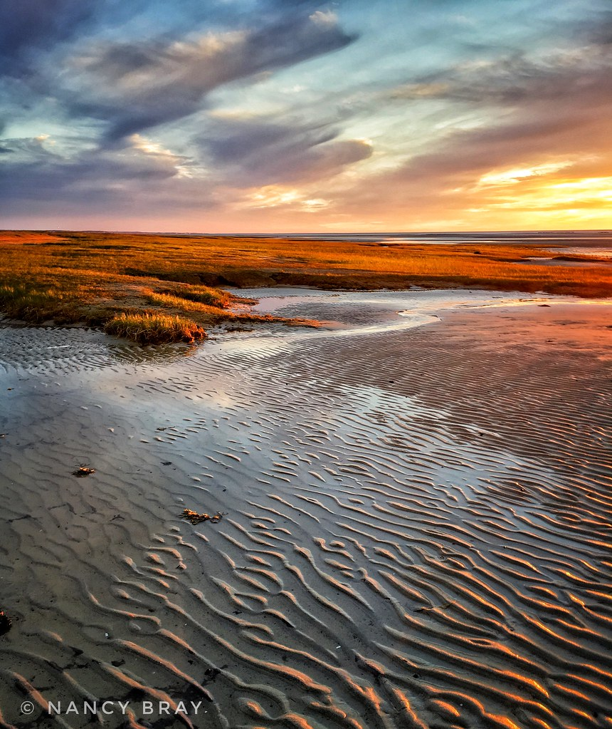 Cape Cod Spring: Rock Harbor Sunset, Cape Cod. Taken Last Spring.