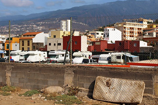 Official campsite, Puerto de la Cruz, Tenerife