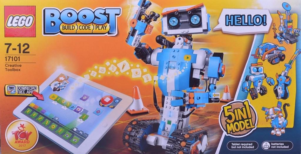 LEGO Boost 17101 Boost Creative Toolbox review | Brickset: LEGO set