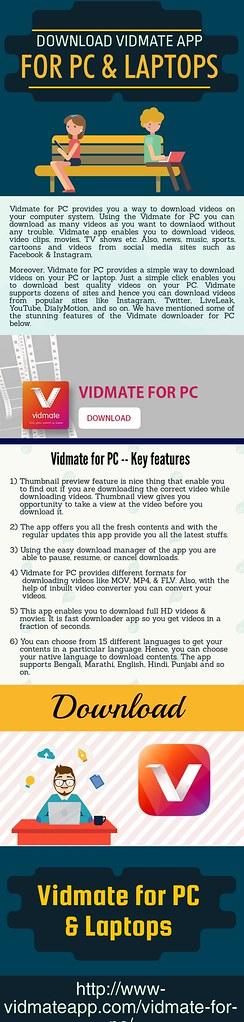Download Vidmate App For PC & Laptops | Visit Here: www-vidm… | Flickr