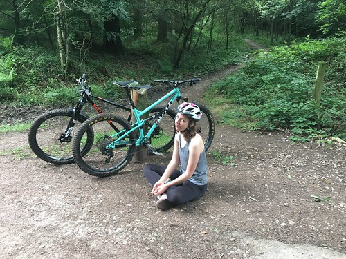 Jessie's new bike day | by Alex Leigh