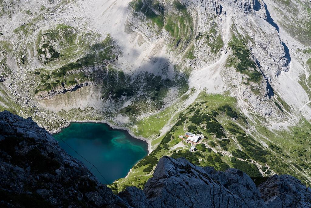 Klettersteig Tajakante : Tajakante klettersteig Österreich gipfelkonferenz