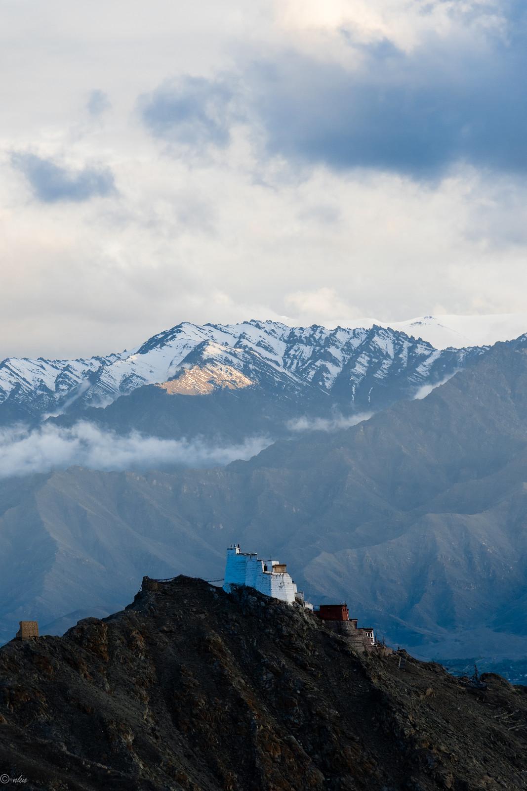 Distant view of Leh