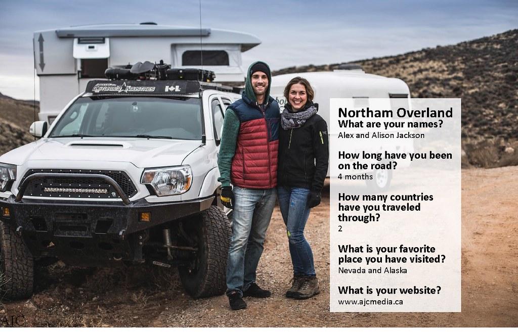 2017 Toyota Overland List