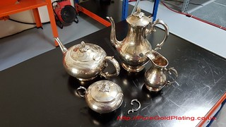 Badly Tarnished Tea and Coffee Set | by PureGoldPlating