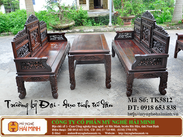 TK5812a  Bo Truong Ky tich Tu Dan  do go mynghehaiminh