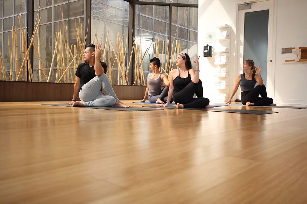Yoga Class Is A Fashion Show