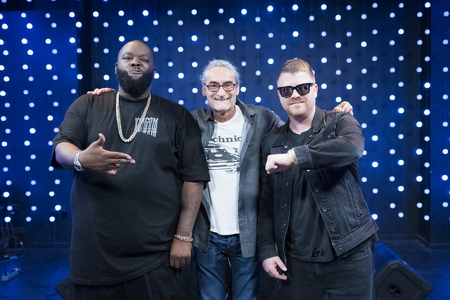 DJ Kevin Cole with Run The Jewels