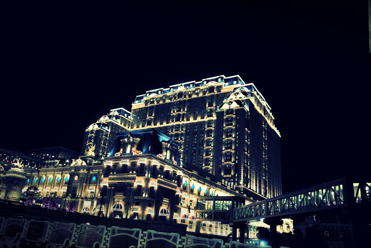 야경-'베네치안 마카오 리조트(The Venetian Macao Resort Hotel, Cotai, Macau)'