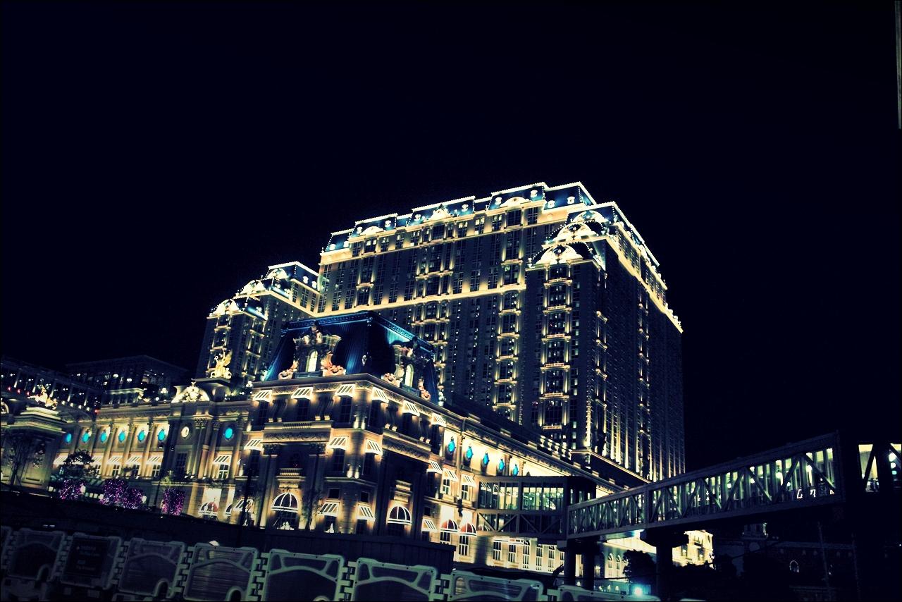 야경-'베네치안 마카오 리조트(The Venetian Macao Resort Hotel, Cotai, Macau)'