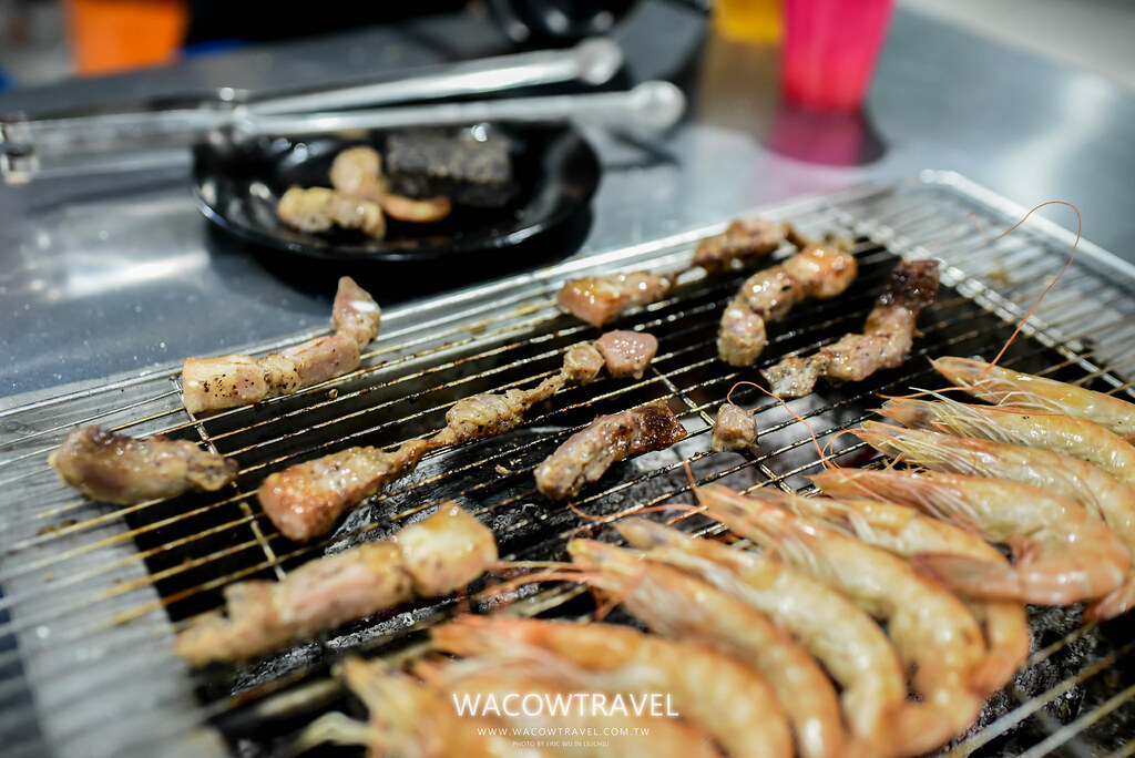小琉球美食-筑安心燒物BBQ烤鹹豬肉