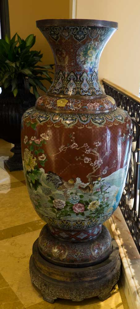 Chinese Antique Vase Antique Chinese Cloisonne Ballagio C