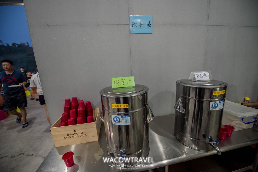 小琉球美食-筑安心燒物BBQ飲料區