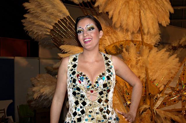 Manc carnival queen, Santa Cruz, Tenerife