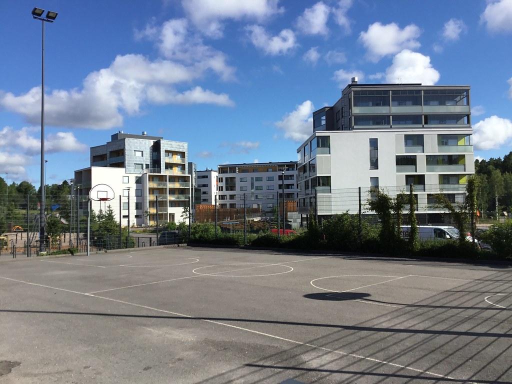 Kuva toimipisteestä: Saunalahden koulu / Koripallokenttä