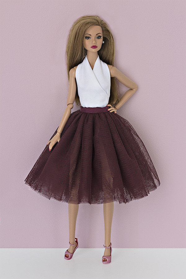 tulle skirt for barbie