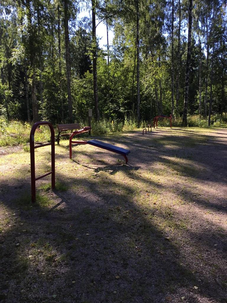 Kuva toimipisteestä: Kahisenvanmäki / Ulkokuntoiluvälineet