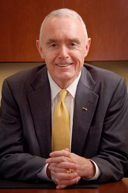 Retired U.S. Army Gen. Barry McCaffrey poses for a photograph