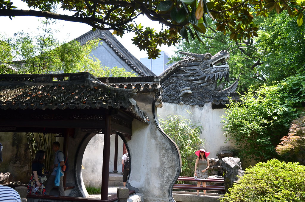 Dragon Gate inside Yu Garden | The ancient Ming era Yu Garde… | Flickr