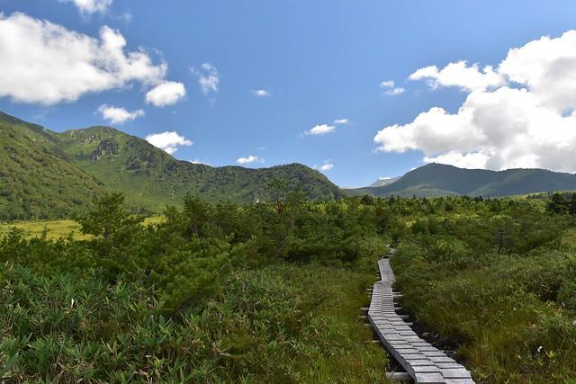 大日平から立山方面の風景