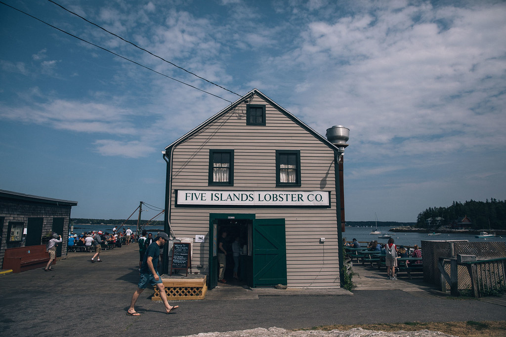 a week in maine 2017 five island lobster company allagash