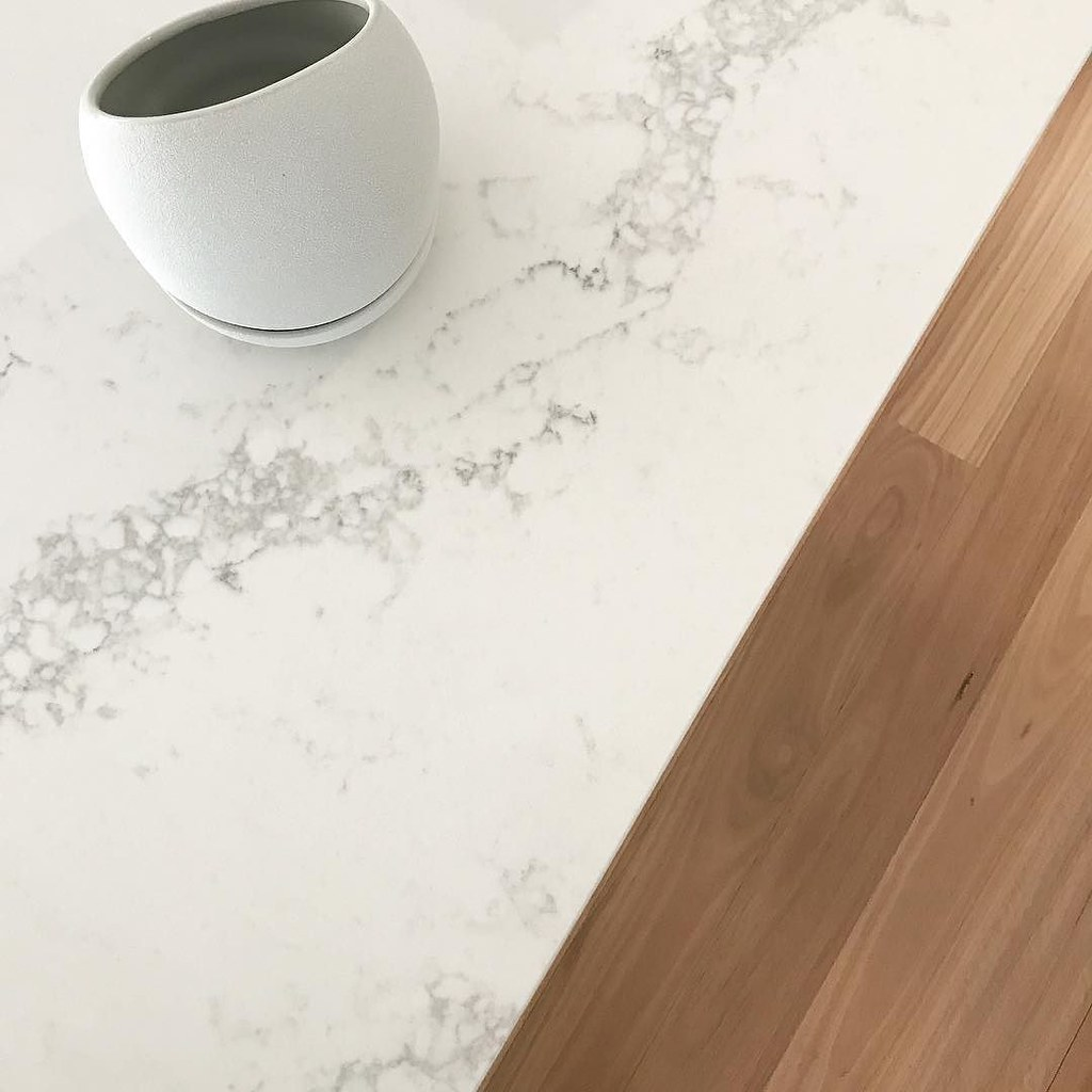 Carrara Marble Kitchen Benchtops: Absolutely Obsessed With This @caesarstoneau Statuario Max…