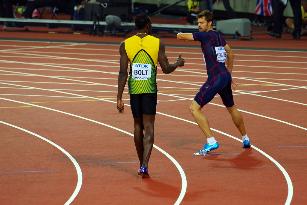 2017 >> Usain Bolt and Christophe Lemaitre, London 2017, 4x100m re… | Flickr