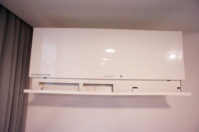 全熱交換器可讓新鮮空氣進到室內,但不會造成變頻式空調太大負荷。(本文圖片提供:立可居家設計)