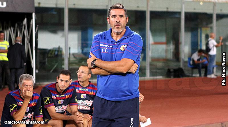 Cristiano Lucarelli, mister rossazzurro