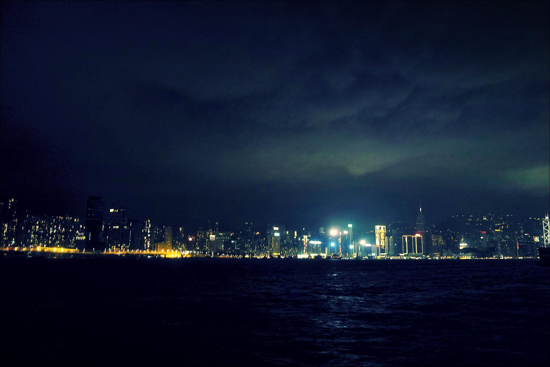 야경-'홍콩 둘러보기(Hongkong Sightseeing)'