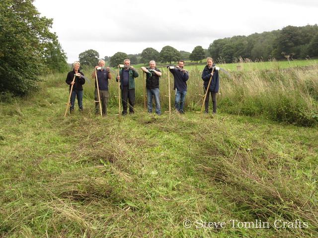 Scything in Yorkshire