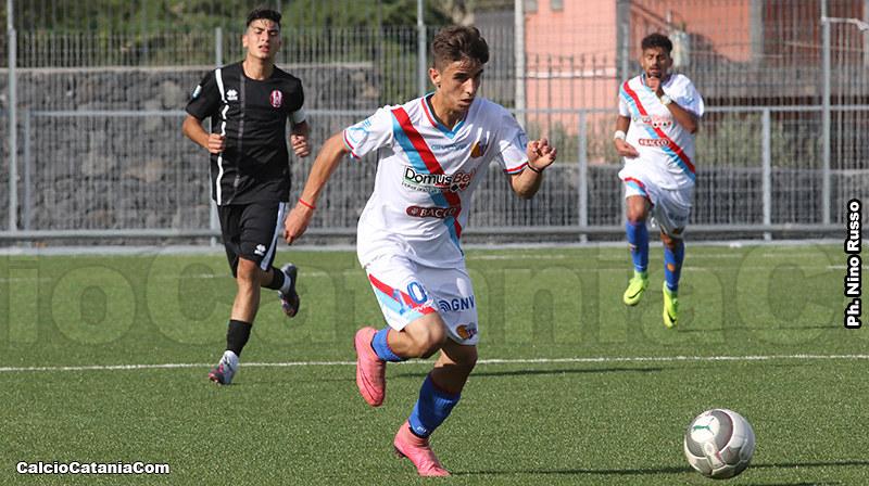Alessandro Arena, autore del gol del raddoppio