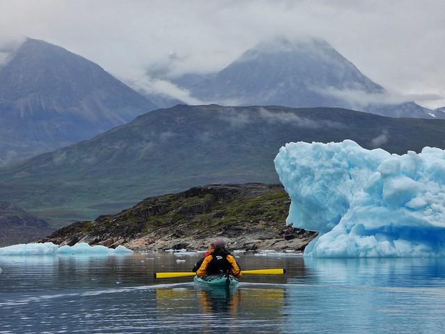 Kakay en Groenlandia (Tasiusaq y los icebergs)