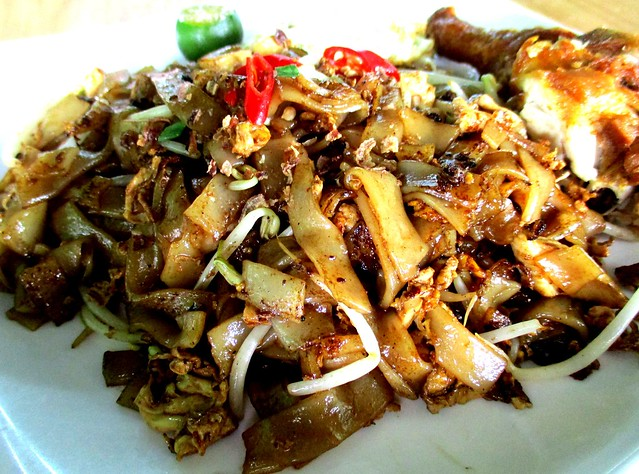 Sara Cafe fried kway teow