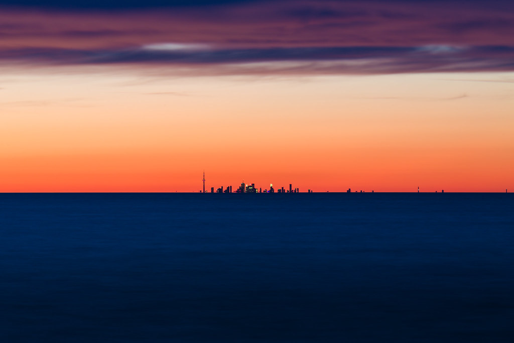 Toronto Skyline from Youngstown, NY
