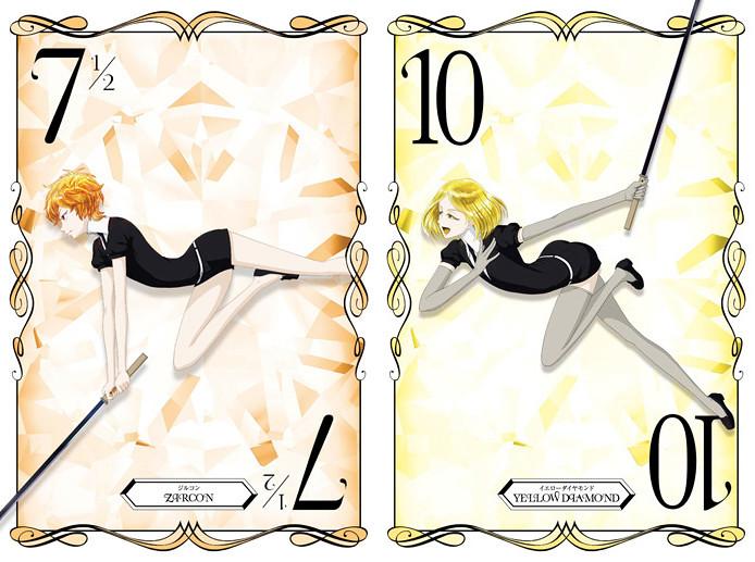 170821(1) -「鋯石×黃彩鑽」翩然現身、市川春子同名漫畫改編10月電視動畫版《寶石之國》發表第5批主角海報!