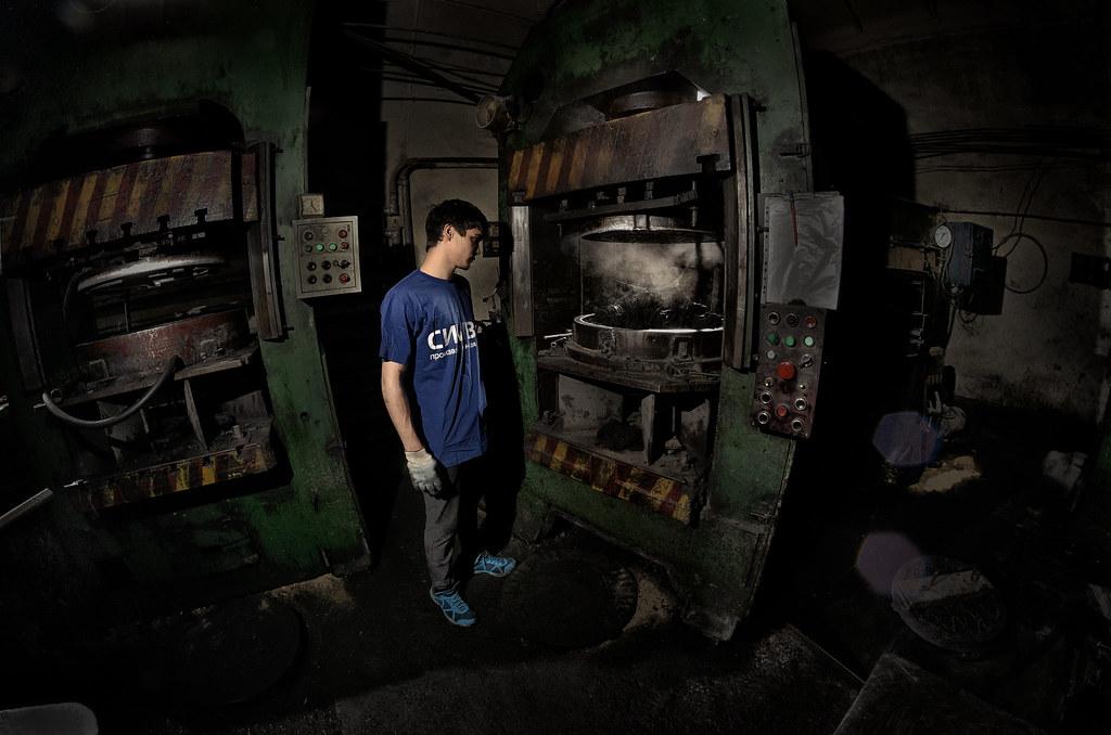 промышленный фотограф в Челябинске