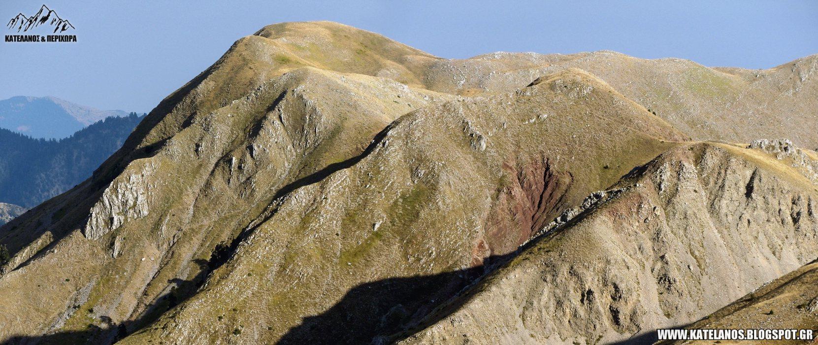 κορυφη τσινα παναιτωλικου παναιτωλικο ορος