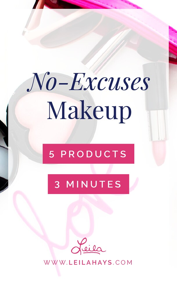 No-Excuses Makeup