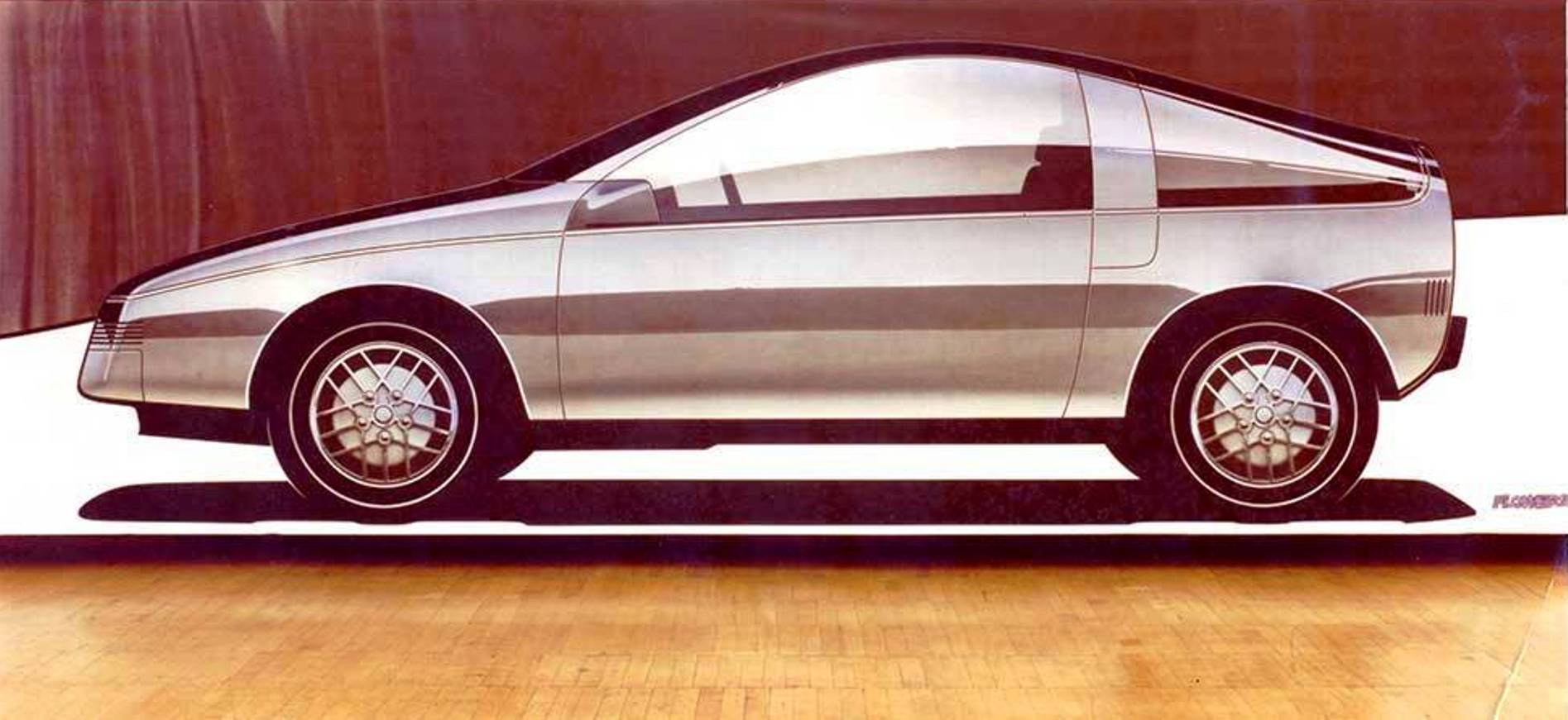 General motors electric car design study 1983 for General motors electric car