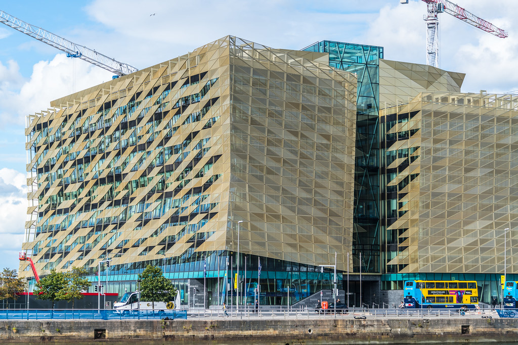 Central Bank Of Ireland New Headquarters North Wall Quay