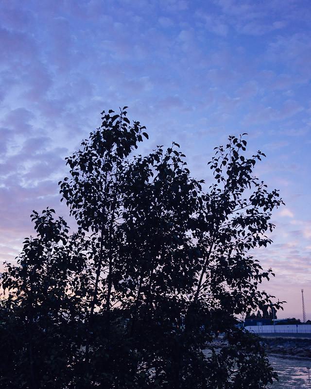 twilight view outside poole travelodge