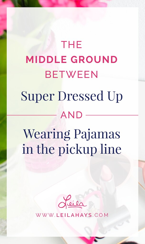 Middle Ground Between Super Dressed Up and Wearing Pajamas