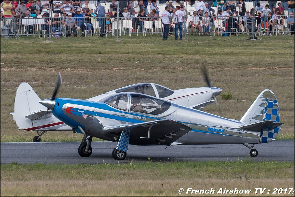 Globe Swift CG-1B, Swift Team , Patrouille Swift 2017 , Free Flight World Masters - Rodez 2017