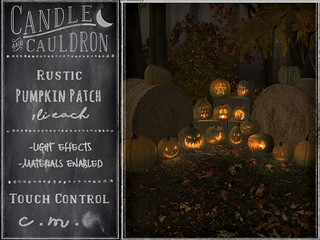 {C&C} Rustic Pumpkin Patch | by November Nighthearth