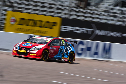 Jack Goff, Honda Civic Type R, British Touring Car Championship, Rockingham 2017