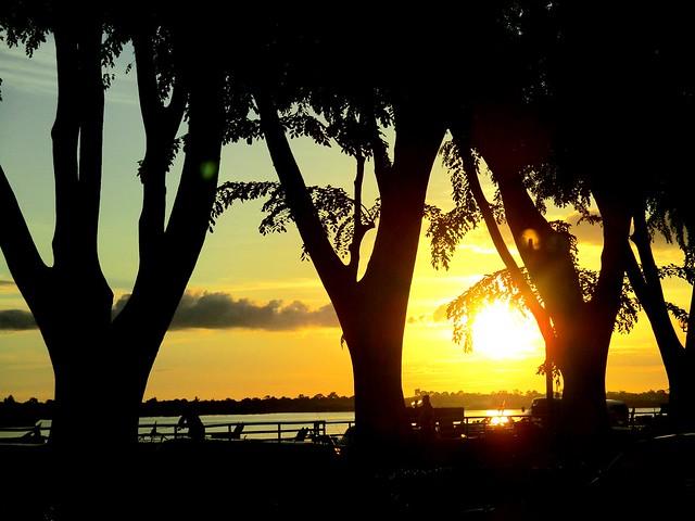 Evening, Rejang Esplanade
