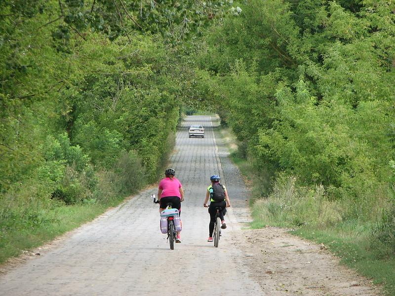 На дорозі від Олики до Цумані.