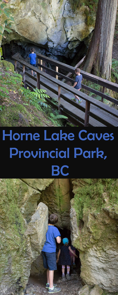 Looking for a fun adventure on Vancouver Island? How about visiting Horne Lake Caves?